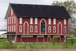 antique ohio red barn