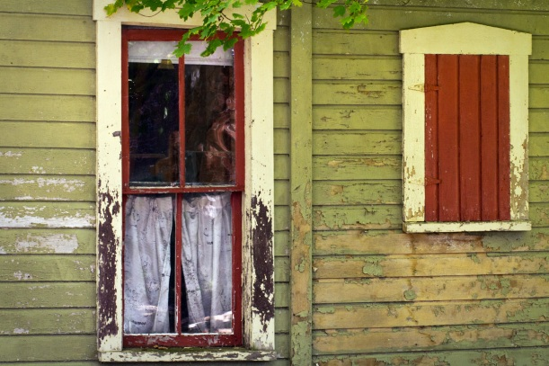 vintage window and door