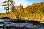 sweetwater creek in autumn