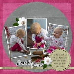 Barbie Purse digital scrapbooking layout